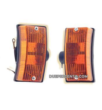 Coppia freccie anteriore CIF per Vespa PX125-200/ P200E/ MY/ T5