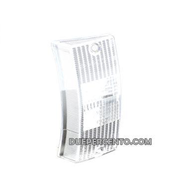 Vetro freccia anteriore destro bianco SIEM per Vespa PX125-200/ P200E/ MY/ T5
