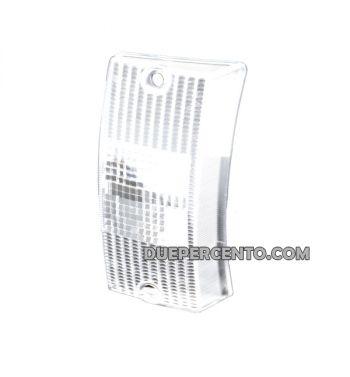Vetro freccia anteriore sinistro bianco SIEM per Vespa PX125-200/ P200E/ MY/ T5
