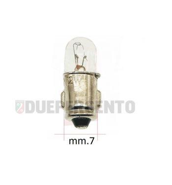 Lampadina 12V 2W BA7S spia luci e frecce Vespa PX125-200/ P200E