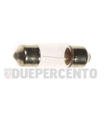 Lampadina siluro 6V 3.0W - 8x31 illuminazione contachilometri Vespa ET3/ Primavera/ Sprint/ GTR/ TS/ Rally