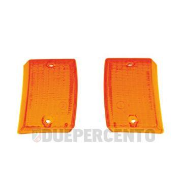 Kit vetri frecce anteriori arancioni per Vespa PK 50-125 S/ SS/ Lusso/ Automatica