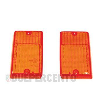 Kit vetri frecce posteriori arancioni per Vespa PK 50-125 S/ SS/ Lusso/ Automatica