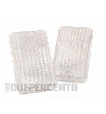 Kit vetri frecce posteriori bianchi per Vespa PK 50-125 S/ SS/ Lusso/ Automatica