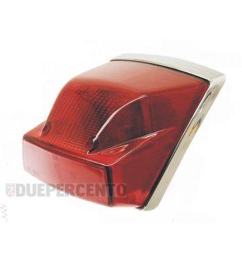 Fanale posteriore completo SIEM per Vespa PX125-200/MY, adatto anche per Vespa PX125-200/PE/Lusso/'98/MY/'11/T5/LML Star