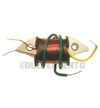 Bobina accensione dinamo 2° bobina luce per Vespa 125 VNB2-6T/GT/GTR/Super/TS/150 VBB2T/Sprint/V/180 Rally/P125-150X/P150S