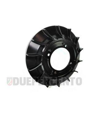 Ventola in alluminio racing cnc nero anodizzato per accensione VMC