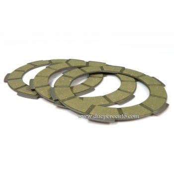Dischi frizione SURFLEX per frizione monomolla, 3 dischi sughero per Vespa 50/ 50 Special/ ET3/ Primavera/ PK50-125