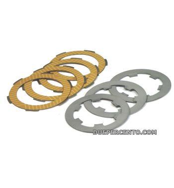 Dischi frizione FABBRI Racing per frizioni 8 molle per Vespa 50/ 50 Special/ ET3/ Primavera/ PK50-125/ HP/ Ape