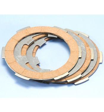 Dischi frizione POLINI 3 dischi sughero, 2 infradischi per Vespa PK50/ S/ SS/ XL/ XL2/ FL/ HP/ N/ Rush/ Ape
