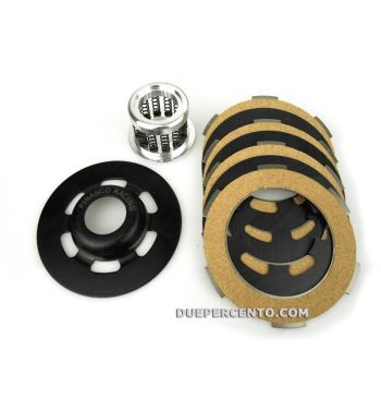 Frizione completa 12 molle PINASCO Light Clutch per Vespa 50/ 50 Special/ ET3/ Primavera/ PK50-125/ FL/ XL/ ETS/ N/ APE