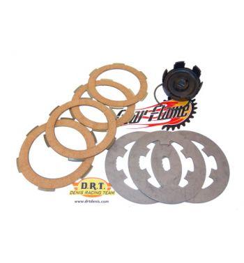 Kit DRT potenziamento frizione monomolla, 4 dischi per Vespa 50/ 50 special/ ET3/ Primavera
