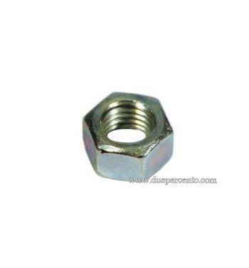 Dado M9 mm, chiave da 13 mm, a=7,00 mm, fissaggio perno ingranaggio multiplo per Vespa VNB/ TS/ VBA/ Super/ 160 GS/ 180 SS/ PX 125-150
