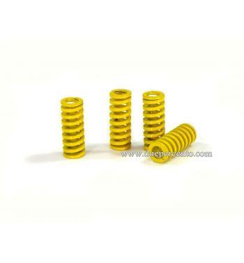 Molle parastrappi PLC Corse rinforzato gialle DURE per Vespa 50/ 50 Special/ ET3/ Primavera/ PK50-125