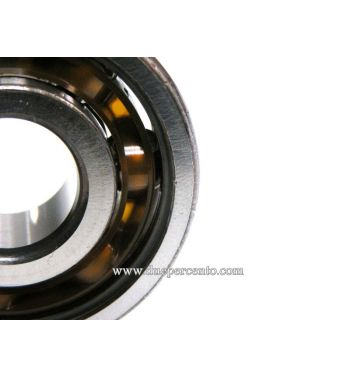 Cuscinetto a sfere 17x47x14 SKF 6303 TN9 C3 - ALBERO MOTORE LATO FRIZIONE per Vespa 50/ 50 Special/ ET3/ Primavera/ PK50-125