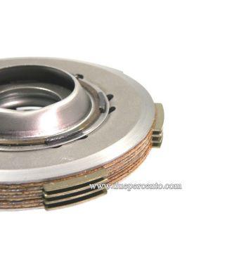 Frizione NEWFREN RACE monomolla, 4 dischi sinterizzati, 3 infradischi, 1 molla rinforzata per Vespa 50/ 50 Special/ ET3/ Primavera/ PK50-125