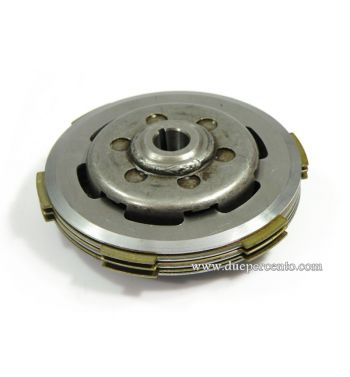Frizione NEWFREN, 3 dischi in sughero, 2 infradischi, 6 molle per Vespa 50/ 50 Special/ ET3/ Primavera/ PK50-125/ FL/ XL/ ETS/ N/ APE
