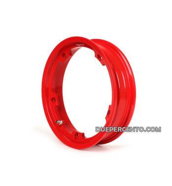 Cerchio in lega TUBELESS BGM PRO 2.10-10 rosso per Vespa 50/ 50 special/ ET3/ PX125-200/ P200E/ Rally 180-200/ T5/ GTR/ TS/ Sprint