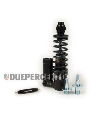 Ammortizzatore anteriore BGM PRO SC/F16 COMPETITION, 195mm + 205mm NERO per Vespa PK/ HP/ Rush / XL/ XL2