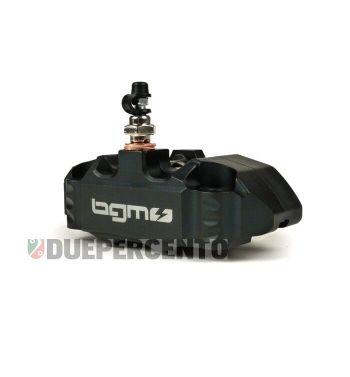 Pinza freno radiale BGM PRO 4 pistoncini Ø 25 mm, nera Vespa PX '98/ MY/ '11 kit GRIMECA