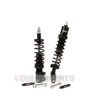 Kit ammortizzatori BGM PRO SC FR1 SPORT, nero, per Vespa PX125-200/ P200E / Arcobaleno/ `98/ MY/ `11/ T5