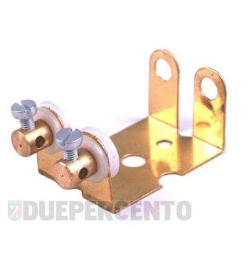 Portalampada fanale posteriore doppia lampada a siluro per modifica fanali senza stop Vespa