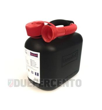 Tanica benzina HÜNERSDORFF, 5 litri, nera
