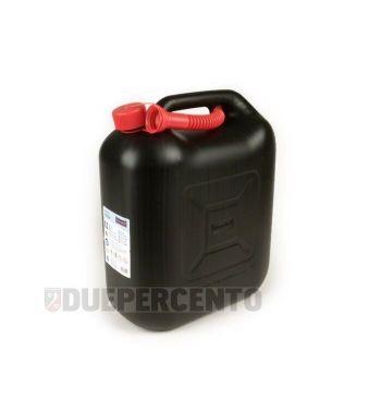 Tanica benzina HÜNERSDORFF, 20 litri, nera