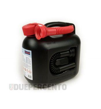 Tanica benzina HÜNERSDORFF PREMIUM, 5 litri, nera