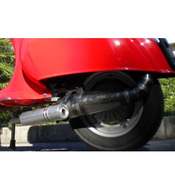 Espansione racing MD Racing 130 silenziatore alluminio per telaio Vespa 50/ 50 Special/ Primavera
