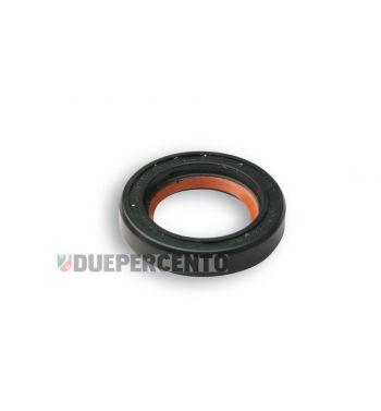 Paraolio MALOSSI FKM/PTFE nero, 15x24x5 mm per albero motore per PIAGGIO CIAO/ PX/ SI/ Bravo/ Superbravo/ Grillo/ Boss