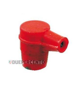 Pipetta candela in silicone rossa per PIAGGIO Ciao/ Bravo/ Boxer