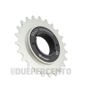 Pignone a ruota libera ESJOT 23 denti per PIAGGIO CIAO/ PX/ SI/ Bravo/ Superbravo/ Grillo/ Boss
