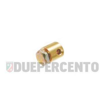 Morsetto acceleratore ø 5.5 x 6 mm, filetto 1/8, per PIAGGIO CIAO/ PX/ SI/ Bravo/ Superbravo