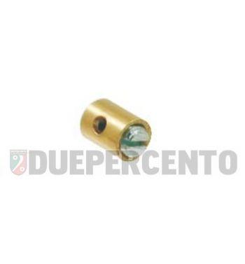 Morsetto acceleratore ø 5.5 x 7.3 mm, M4, per PIAGGIO CIAO/ PX/ SI/ Bravo/ Superbravo