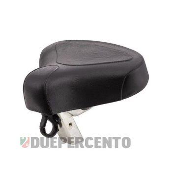 Sella monoposto PIAGGIO, nera, per PIAGGIO CIAO/PX/SC