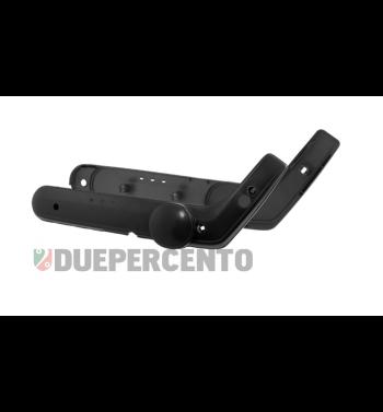 Coppia fiancatine nere per PIAGGIO Ciao, modello senza variatore