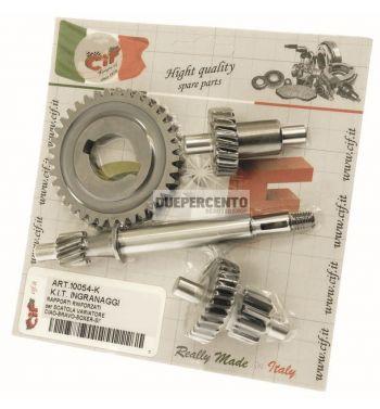 Kit cambio 10-23-10/29-37 denti per PIAGGIO CIAO/ PX/ SC/ SI/ Boxer/ Bravo/ Superbravo