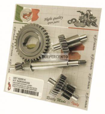 Kit cambio 10-23-11/29-36 denti per PIAGGIO CIAO/ PX/ SC/ SI/ Boxer/ Bravo/ Superbravo
