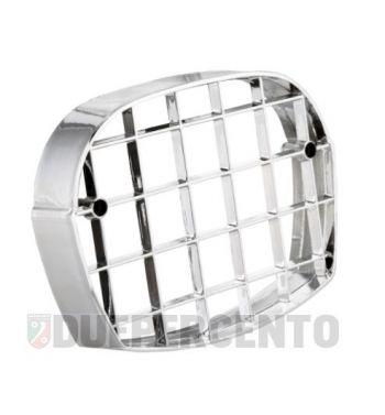 Griglia in plastica cromata CUPPINI per fanale anteriore PIAGGIO Ciao P/ PV/ PX