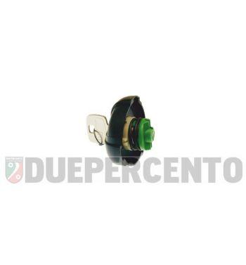 Tappo benzina serbatoio con chiave per PIAGGIO APE P 50/ CIAO/ SI/ Bravo