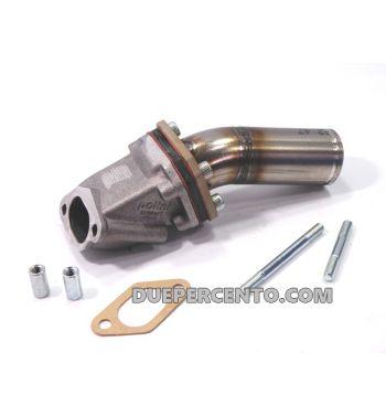 Collettore aspirazione lamellare al carter 2 fori DXC-POLINI 30mm per Vespa 50/ 50 Special/ 125 ET3/ Primavera