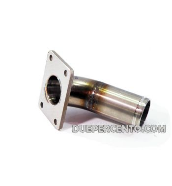 Collettore DXC 30mm per porta pacco VMC 2 fori per Vespa 50/50 Special/125 ET3/Primavera