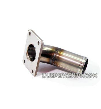 Collettore DXC 30mm per porta pacco VMC 3 fori per Vespa PK50-125/ FL/ HP/ N/ Rush