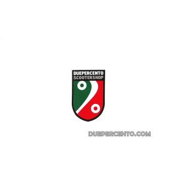 Adesivi DUEPERCENTO SCOOTERSHOP scudo tricolore 4,5 x 7