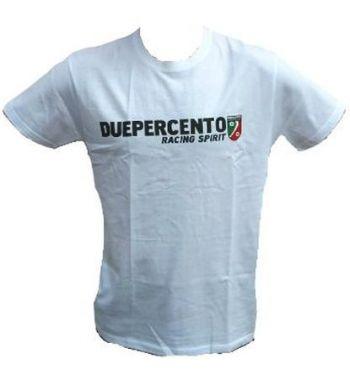 Maglietta DUEPERCENTO - bianca - L