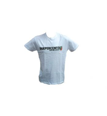 Maglietta DUEPERCENTO - bianca - XL