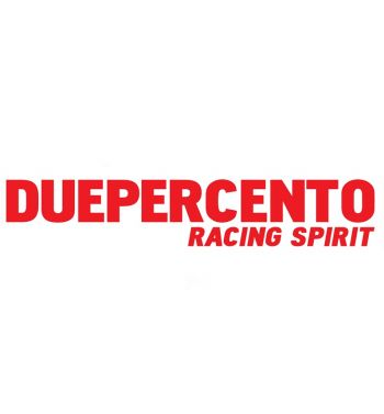 Adesivo Duepercento racing spirit prespaziato 36 x 6 rosso