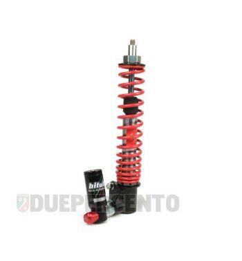 Ammortizzatore anteriore BITUBO corpo nero, molla rossa per Vespa Cosa 125-200