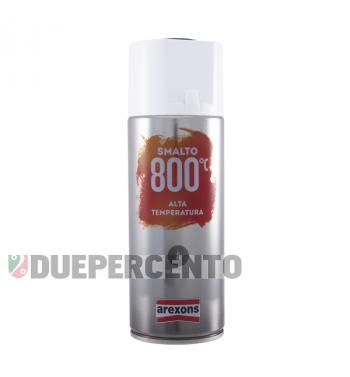 Vernice spray nero opaco per marmitta 400ml (alta temperatura)